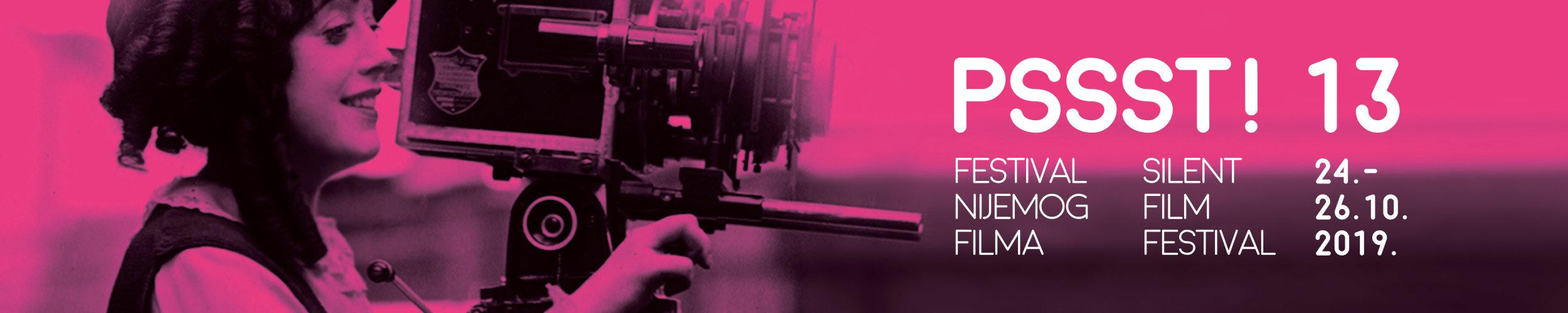13. PSSST! Festival nijemog filma uCentru za kulturu Trešnjevka